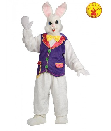 Purple Vest Easter Bunny Suit ADULT BUY