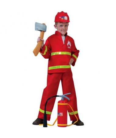 Fireman Red #1 KIDS HIRE