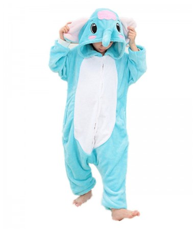 Blue Elephant Onesie KIDS HIRE