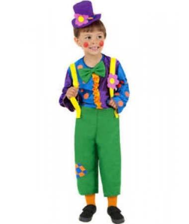 Mr Brighty Buttons Clown KIDS HIRE