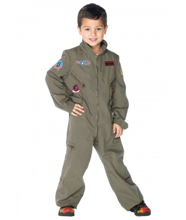 Top Gun Flight Suit KIDS HIRE
