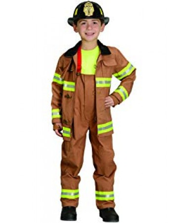Brown Firefighter KIDS HIRE