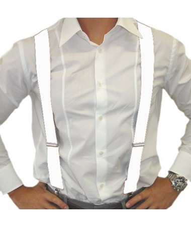 Suspenders/ Braces White BUY