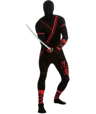 NINJA SKINSUIT ADULT HIRE