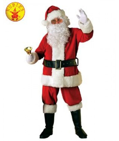 Santa Suit Deluxe Velvet ADULT BUY