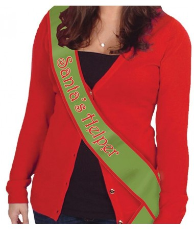 Santa's Helper Sash BUY