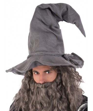 Wizard Hat Wired Grey BUY