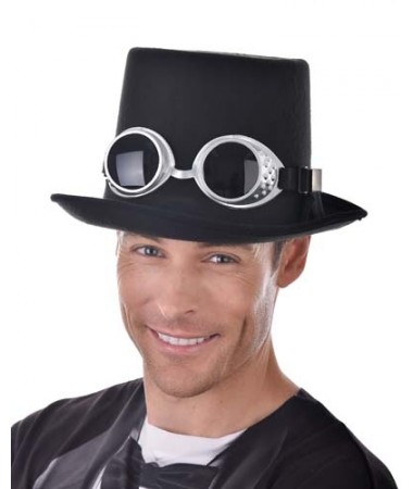 Steampunk Black Hat with Goggles BUY