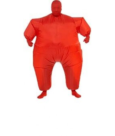 Red Inflatable Suit