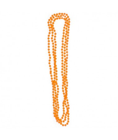 Neon Bead Necklaces Orange BUY