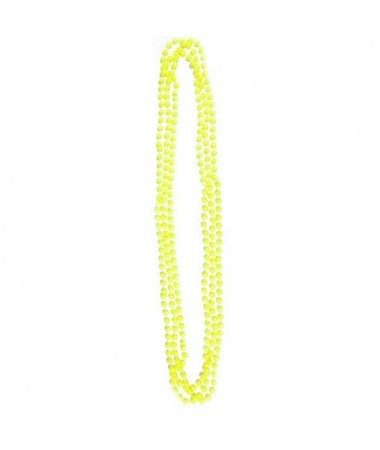 Neon Bead Necklaces Yellow BUY