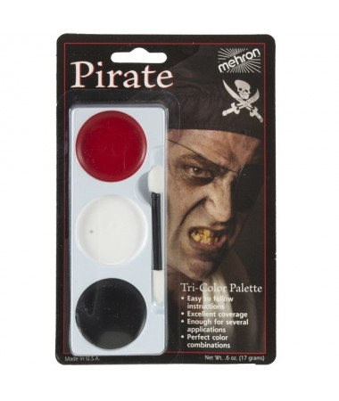 Tri-Color Palette Pirate