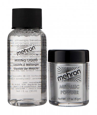 Metallic Powder SILVER with Mixing Liquid