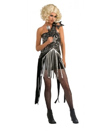 Lady Gaga Star Dress ADULT HIRE