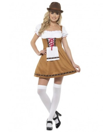 Bavarian Beer Maid Brown ADULT BUY