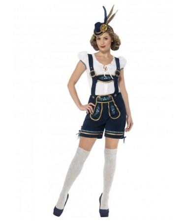 Traditional Deluxe Bavarian Girl Lederhosen ADULT BUY