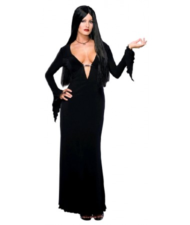 Morticia Addams Deluxe Plus ADULT BUY