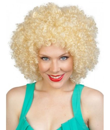Disco Afro Blonde Wig BUY
