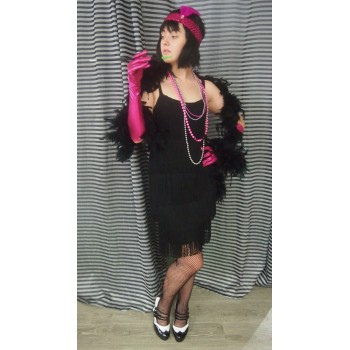 Black Flapper #2 ADULT HIRE