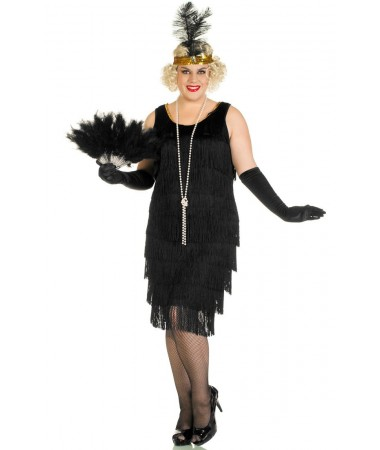 Black Flapper #8 ADULT HIRE