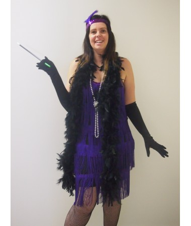 Purple Flapper ADULT HIRE