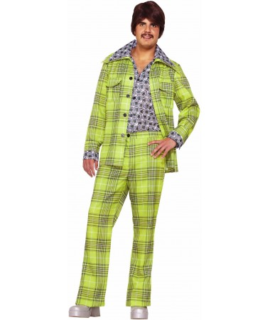 Green Leisure Suit ADULT HIRE