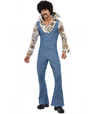 Groovy Denim Jumpsuit ADULT HIRE