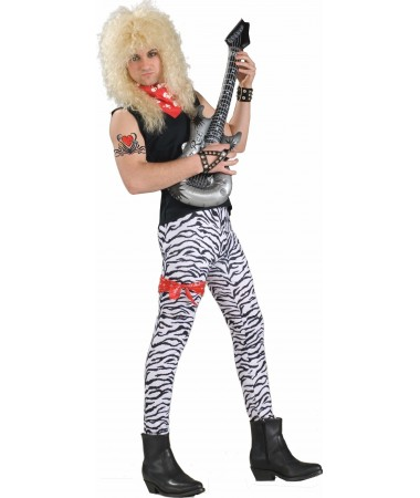 80s Zebra Rock Guy ADULT HIRE