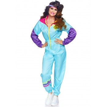 Awesome 80s Track Suit ADULT HIRE