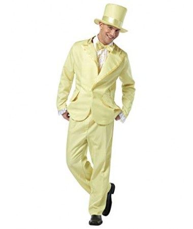 Yellow Funky Tux ADULT HIRE