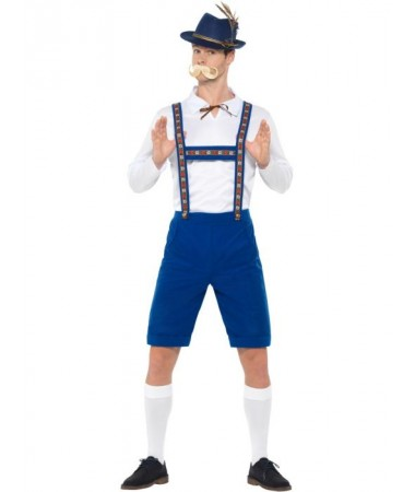 Blue Bavarian Man ADULT HIRE