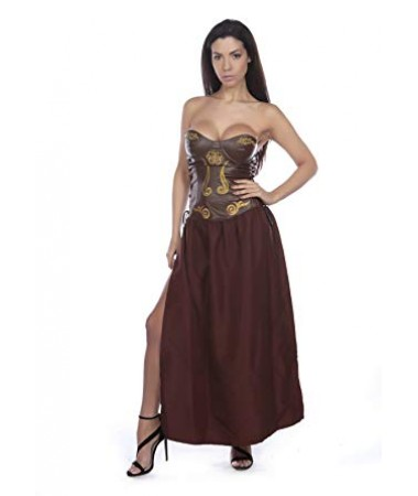Brown Lady Gladiator ADULT HIRE