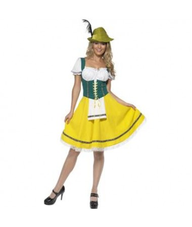 German Girl Yellow ADULT HIRE