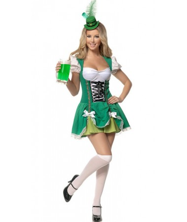 Sexy Irish Dress ADULT HIRE