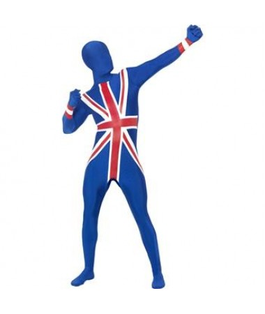 British Union Jack Skin Suit ADULT HIRE
