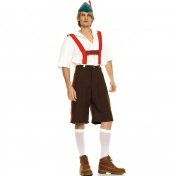 German Lederhosen XL #5 ADULT HIRE