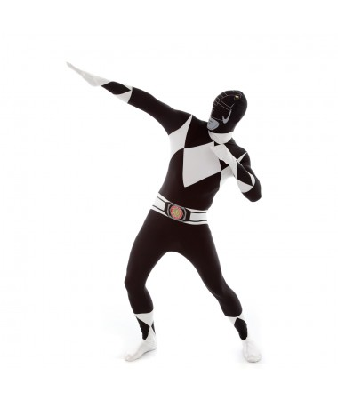 Black Power Ranger Morphsuit ADULT HIRE