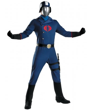 GI Joe Cobra Commander ADULT HIRE
