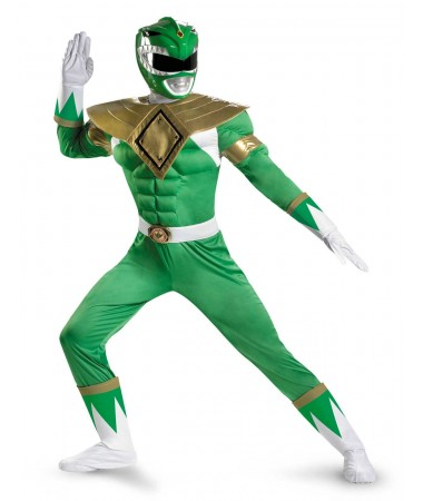 Power Ranger Green ADULT HIRE