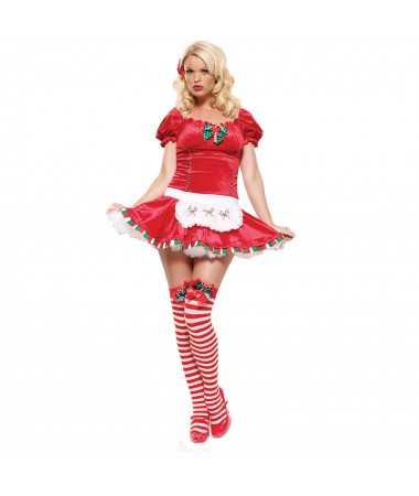 Candy Cane Cutie #1 S/M ADULT HIRE