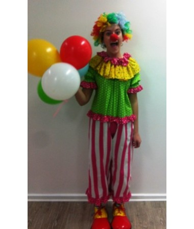 Clown Girl ADULT HIRE