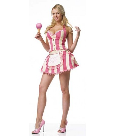 Ice Cream Parlor Girl