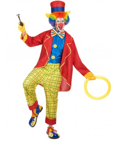 Red Jacket Clown ADULT HIRE