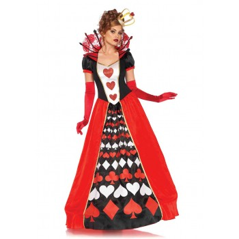 Deluxe Queen of Hearts Long ADULT HIRE
