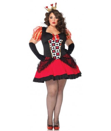 Wicked Queen of Hearts Plus ADULT HIRE