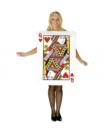 Playing Card Queen ADULT HIRE
