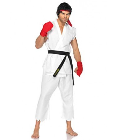 Street Fighter Ryu ADULT HIRE