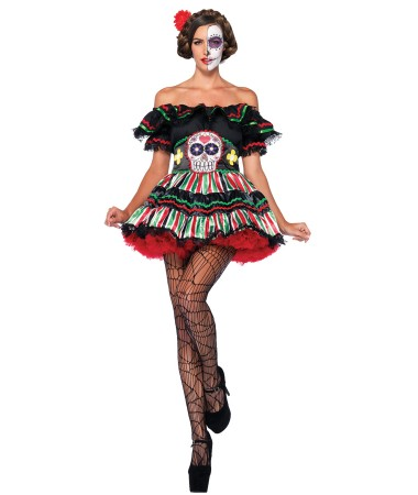 Day of the Dead Doll ADULT HIRE