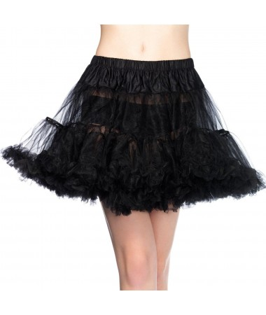 Petticoat Black Layered Tulle