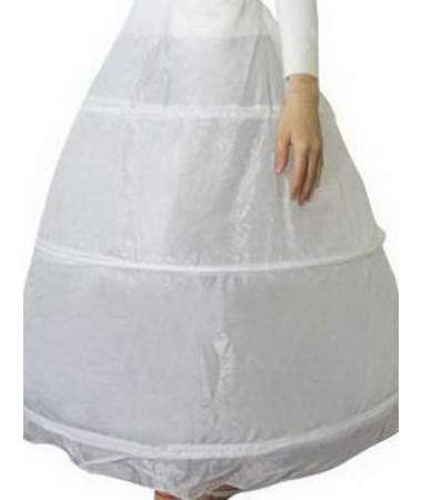 White Hoop Petticoat #1 ADULT HIRE